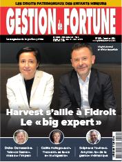 A LA UNE : Harvest s'allie à Fidroit - Le nouveau « big expert »