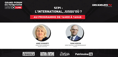[Replay] Grand Forum Live - SCPI : l'international, jusqu'où ?